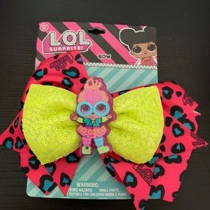Other - New LOL Neon surprise hair bow